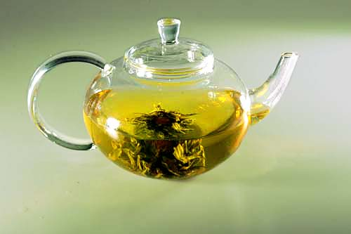 41oz Ultra Clear Glass Teapot with Infuser